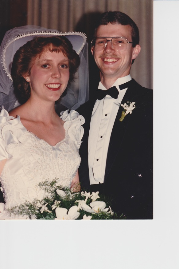 Gary and Fran wedding picture