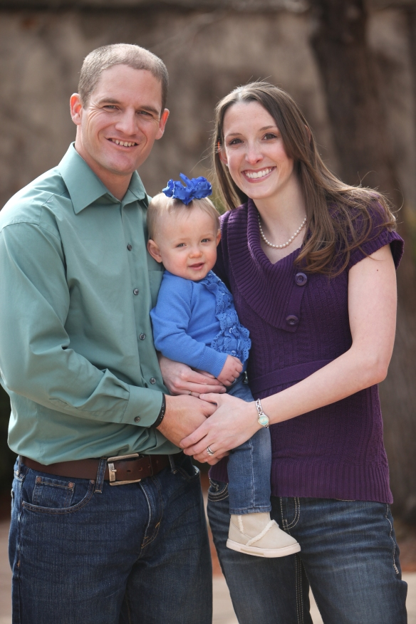Casper, Ashley and Zoe Steenkamp--Missionaries to South Africa