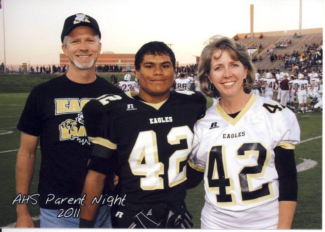 Football mom - homecoming 2011